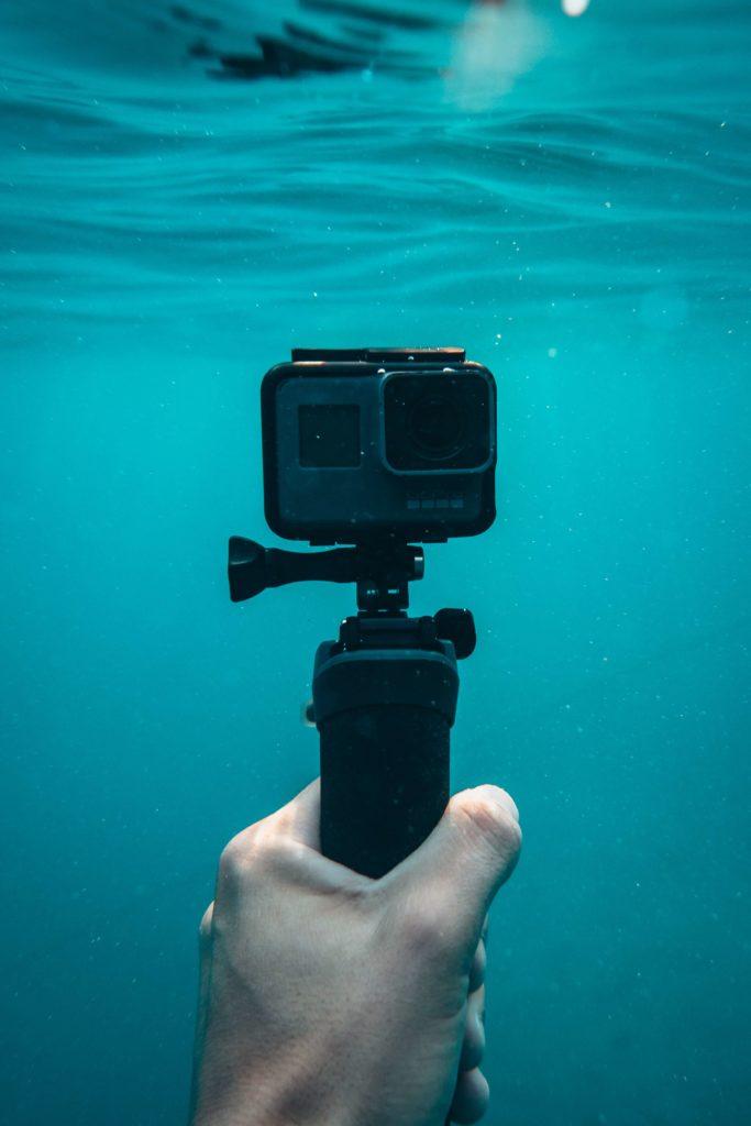Caméra de plongée sous-marine